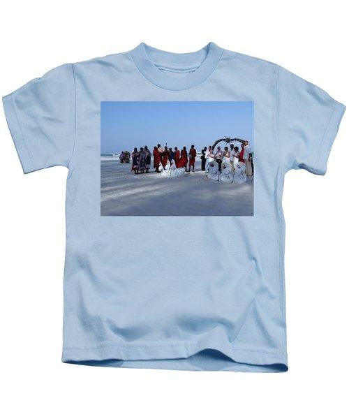 Kenya Wedding On Beach With Maasai Kids T-Shirt