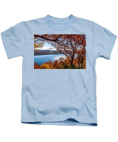 Keuka Lake Vista Kids T-Shirt