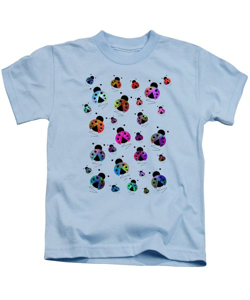 Ladybugs In Flight Kids T-Shirt