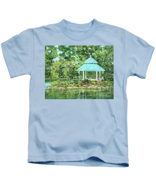 Lake Ella Gazebo Kids T-Shirt