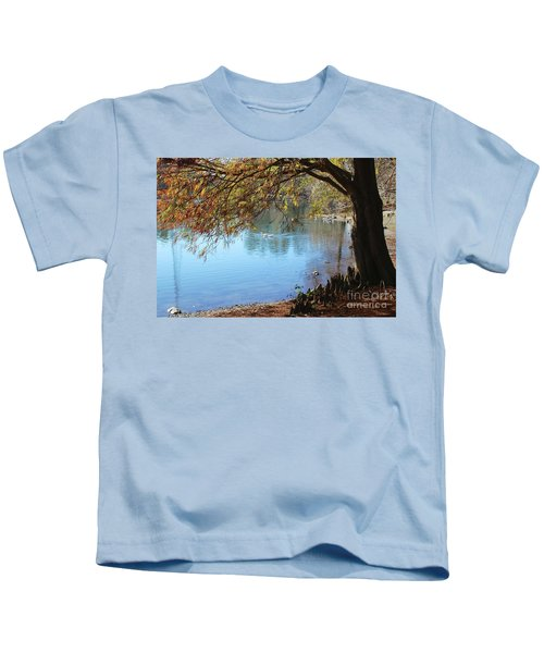 Lake Ella Winter Cypress Kids T-Shirt