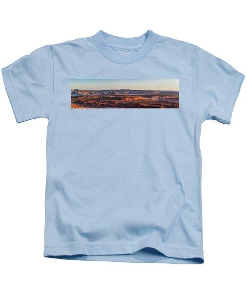 Lake Powell Sunrise Panorma Kids T-Shirt