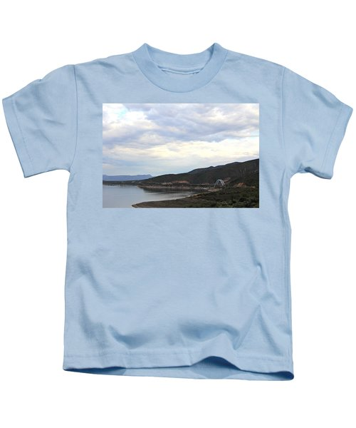 Lake Roosevelt Bridge 1 Kids T-Shirt