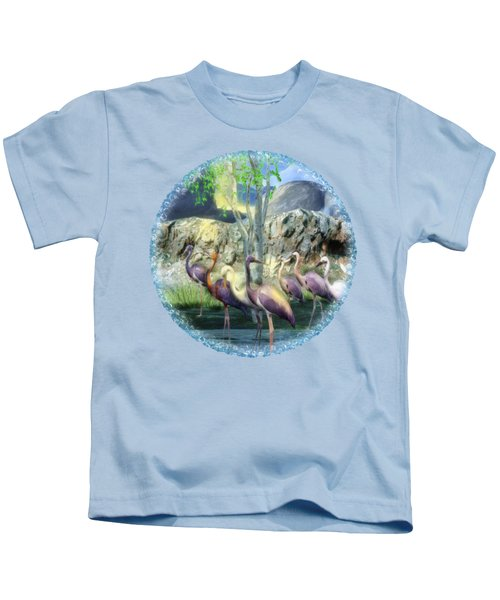 Lakeside View Kids T-Shirt by Sharon and Renee Lozen
