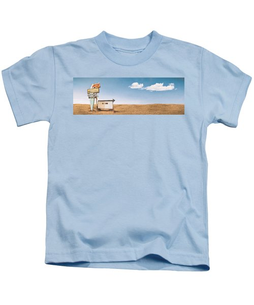Lamp-lite Motel Kids T-Shirt