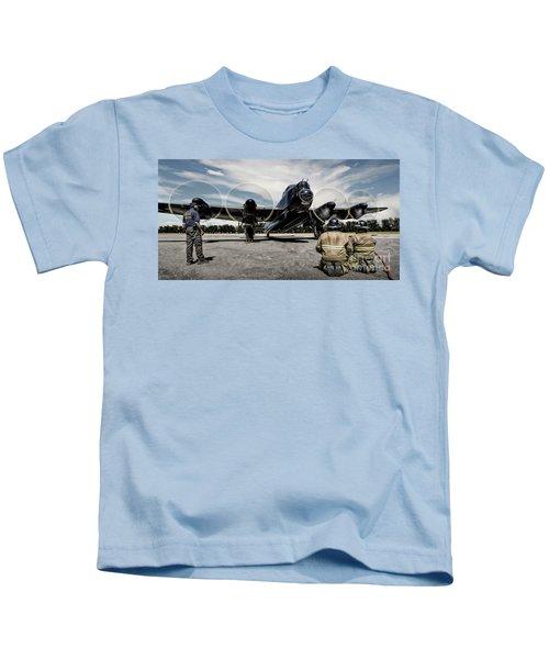 Lancaster Engine Test Kids T-Shirt