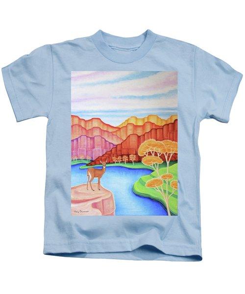 Land Of Enchantment Kids T-Shirt
