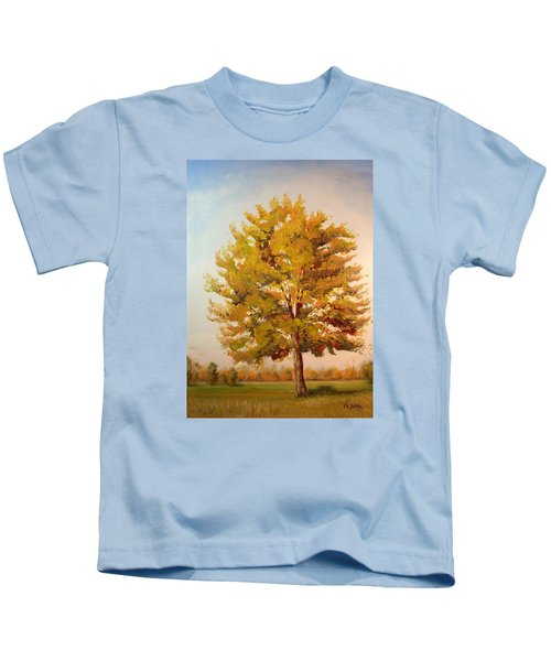 Landscape Oil Painting Kids T-Shirt