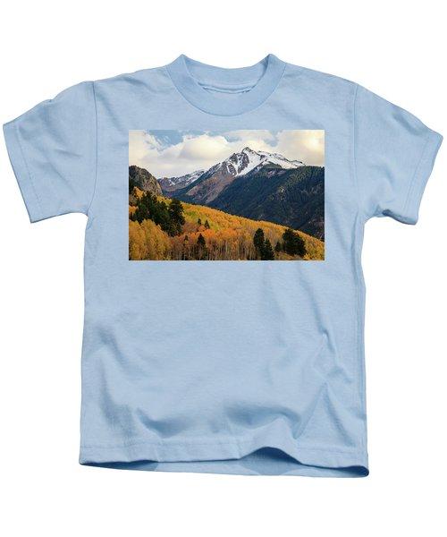 Last Light Of Autumn Kids T-Shirt