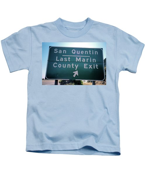 Last Marin County Exit Kids T-Shirt