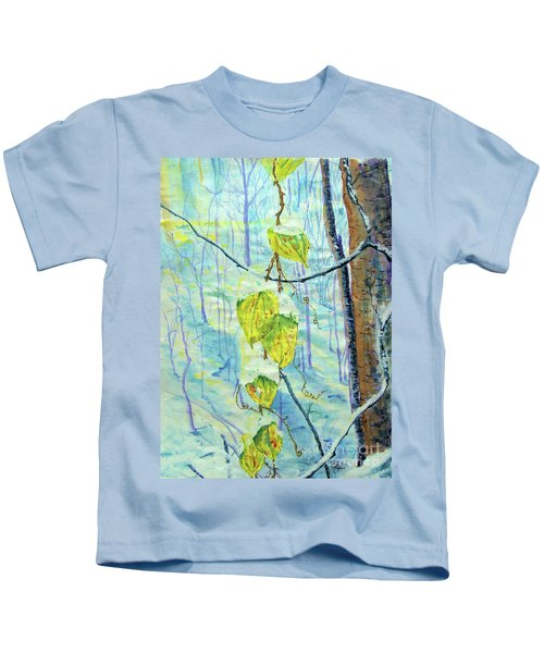 Last Of The Leaves Kids T-Shirt