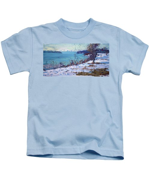 Late Afternoon Sunlight Kids T-Shirt