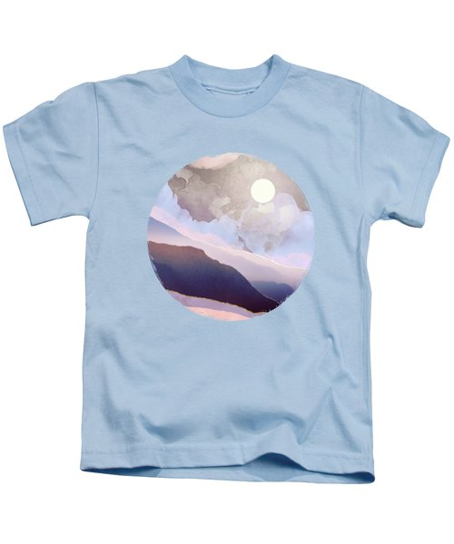 Lavender Night Kids T-Shirt