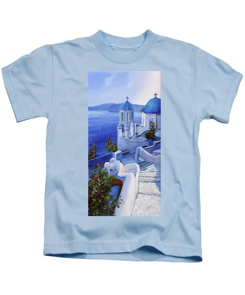 Le Chiese Blu Kids T-Shirt