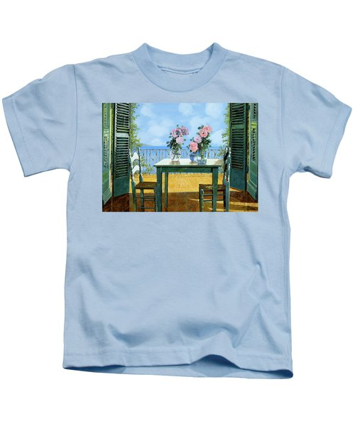 Le Rose E Il Balcone Kids T-Shirt