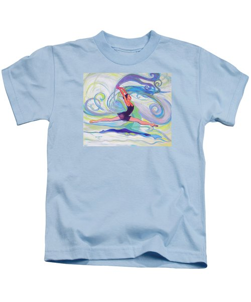 Leap Of Joy Kids T-Shirt