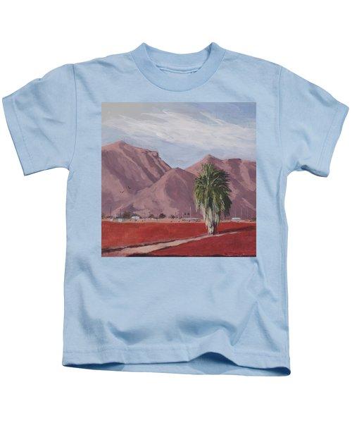 Left Standing - Art By Bill Tomsa Kids T-Shirt