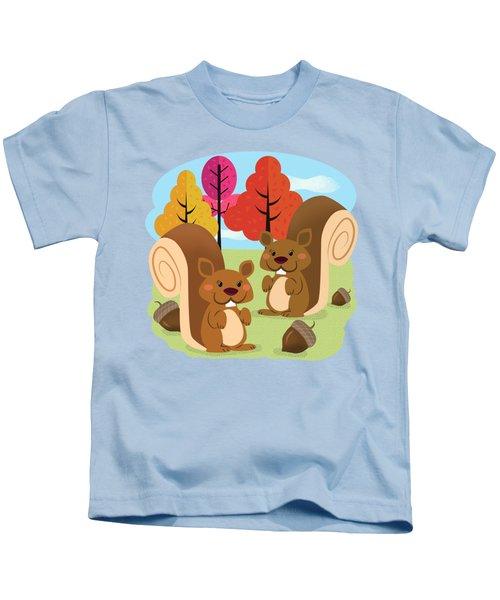 Let The Acorns Fall Kids T-Shirt