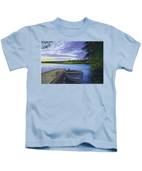 Let's Go Fishing Kids T-Shirt