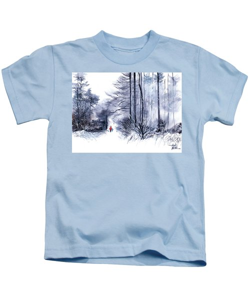 Let's Go For A Walk 2 Kids T-Shirt