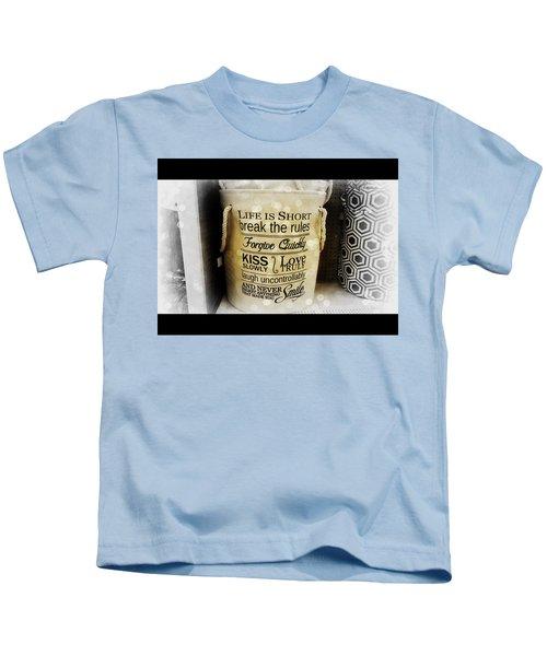 Life Advice Kids T-Shirt