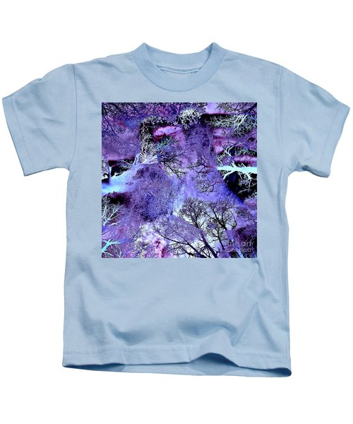 Life In The Ultra Violet Bush Of Ghosts  Kids T-Shirt