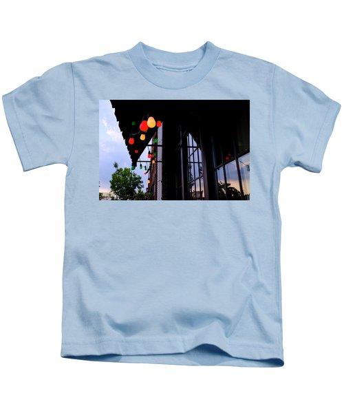 Lights In Corktown In Detroit Michigan Kids T-Shirt