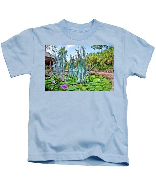 Lily Pad Heaven Kids T-Shirt