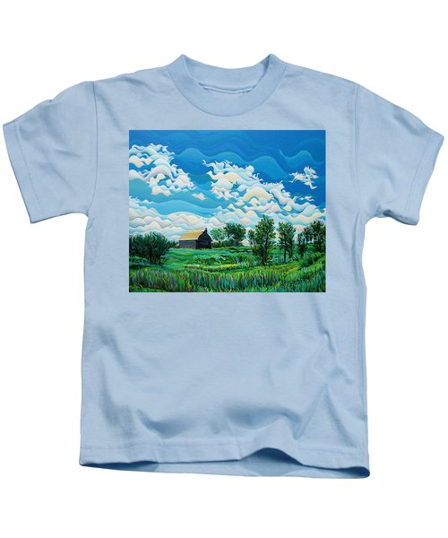 Limitless Afternoon Dreams Kids T-Shirt