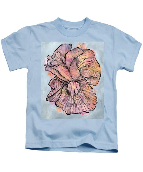 Lines And Layers Kids T-Shirt
