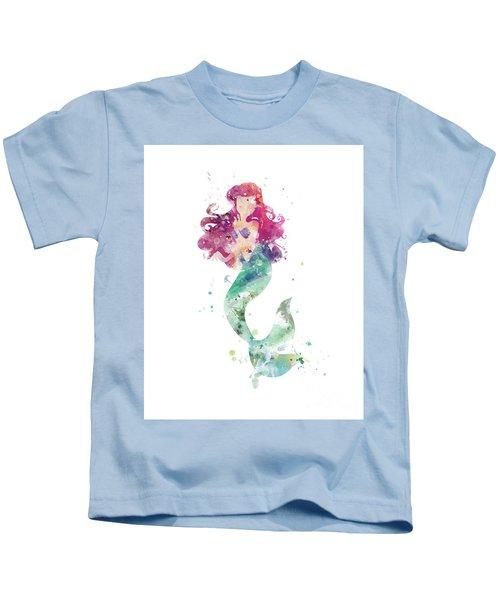 Little Mermaid Kids T-Shirt