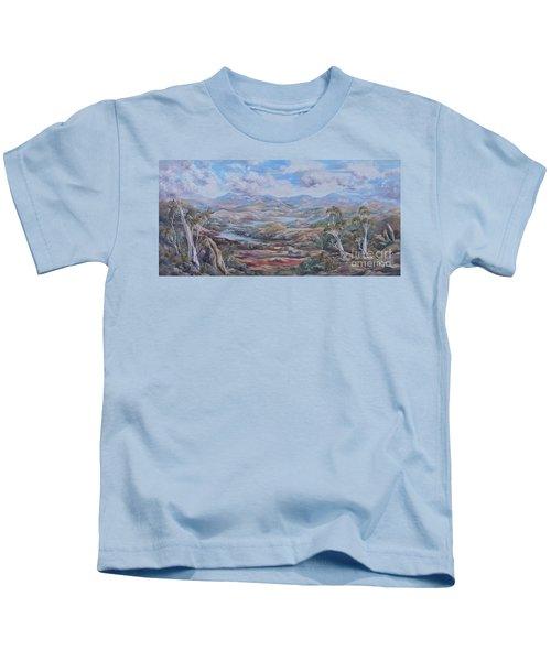 Living Desert Broken Hill Kids T-Shirt