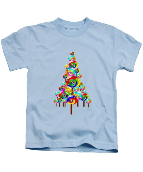 Lollipop Tree Kids T-Shirt