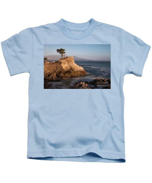 lone Cypress Tree Kids T-Shirt