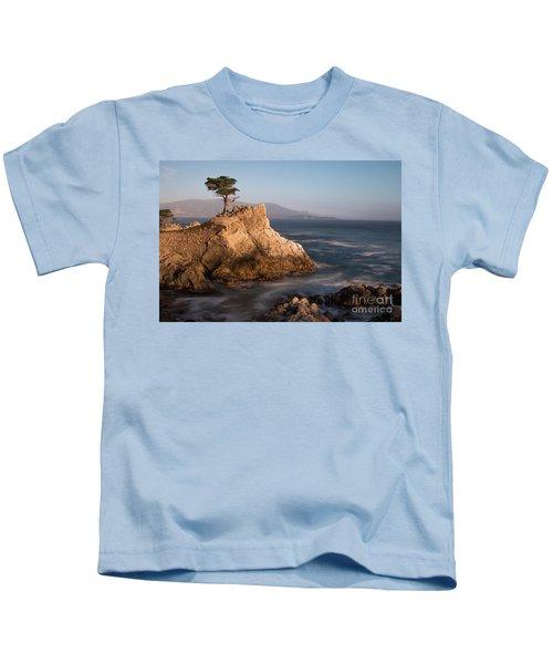 lone Cypress Tree Kids T-Shirt