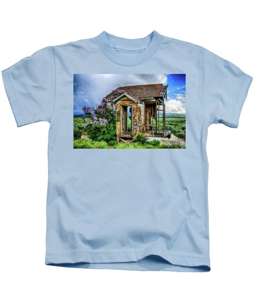Lonely Lilacs Kids T-Shirt