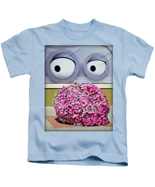 Look At Those Flowers Kids T-Shirt