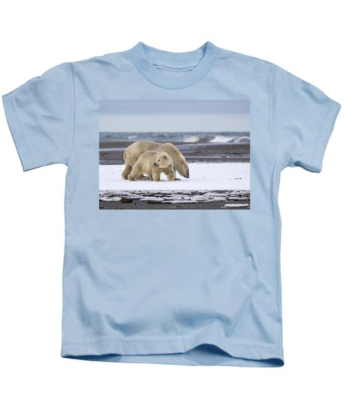 Looking Back In The Arctic Kids T-Shirt