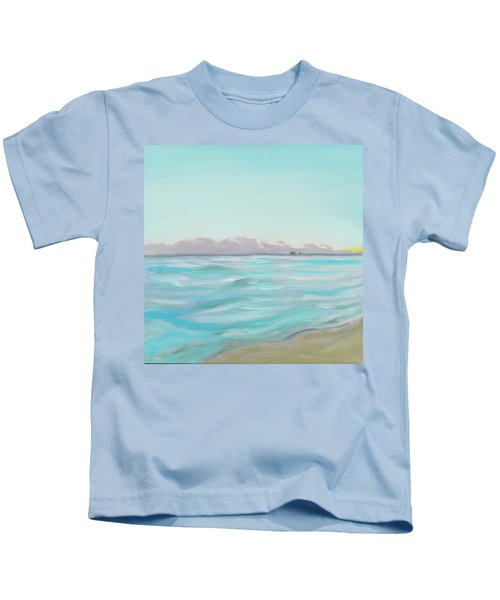 Looking South Tryptic Part 2 Kids T-Shirt