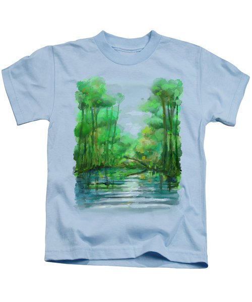 Lost In Colors  Kids T-Shirt