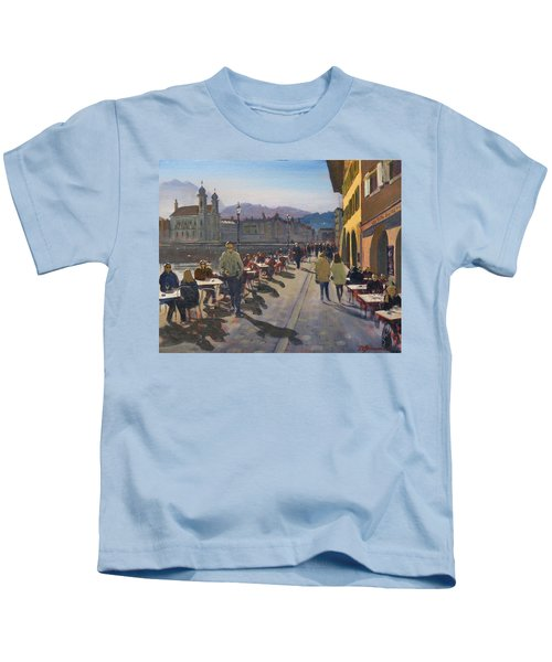 Lunchtime In Luzern Kids T-Shirt