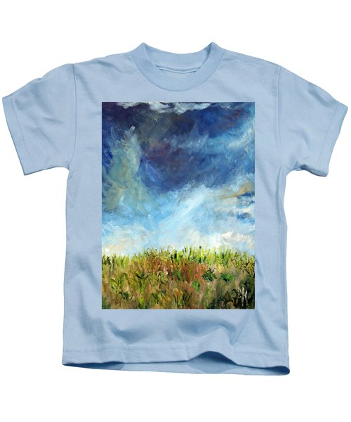 Lying In The Grass Kids T-Shirt