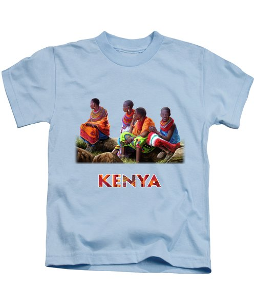 Samburu In Maasai Land Kids T-Shirt