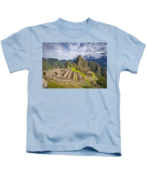 Machu Picchu Peru Kids T-Shirt