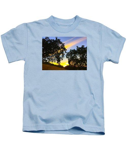 Magic Hour Sunset Kids T-Shirt