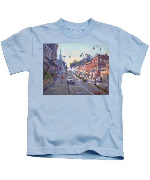 Main St Georgetown Downtown  Kids T-Shirt