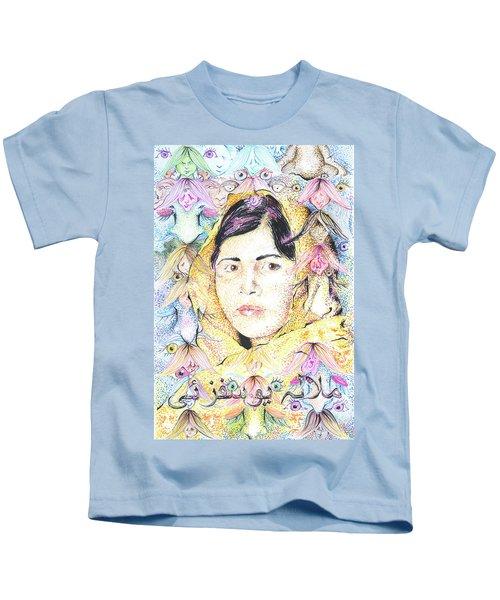 Malala-don't Ignore Us-sombra De Arreguin Kids T-Shirt