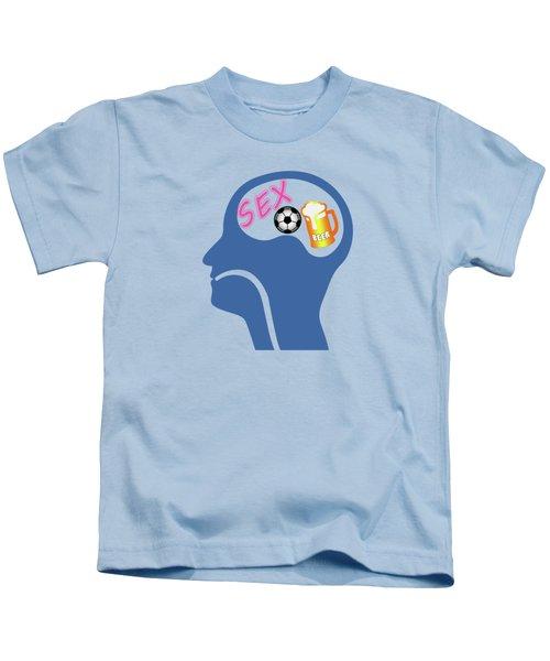 Male Psyche Kids T-Shirt