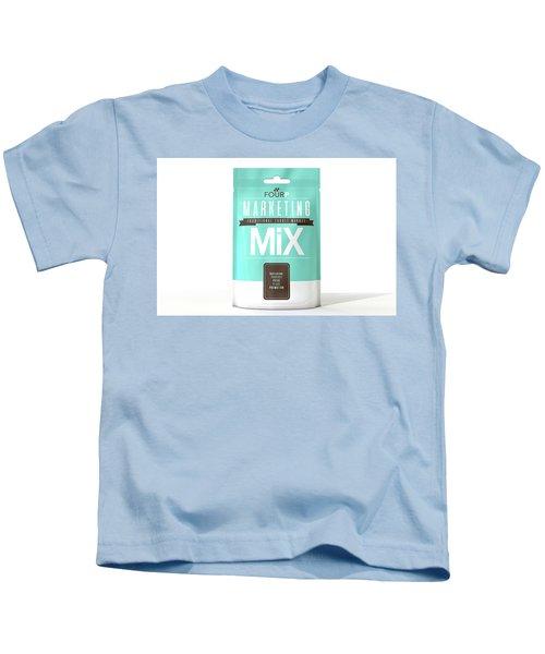 Marketing Mix 4 P's Kids T-Shirt