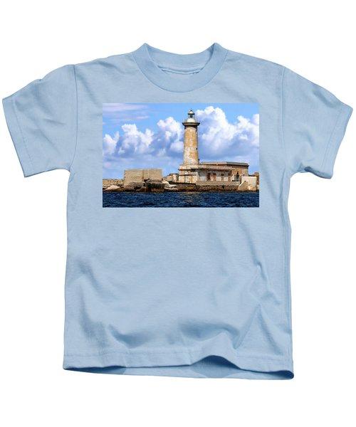 Marsala Lighthouse Kids T-Shirt